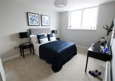 Flat 15 Master Bedroom